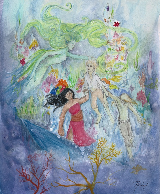 """Underwater Finale"" by Ruth Lampi"