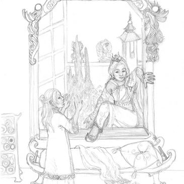 Nedira short story illustration
