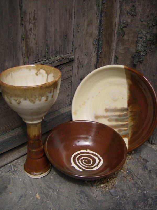 Spiral pottery
