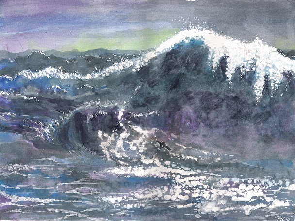 """Kara and the Wave"""