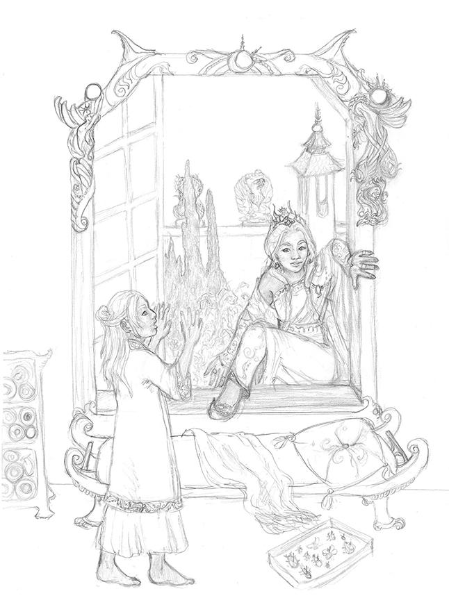 """""""Nedira short story"""" by Ruth Lampi"""